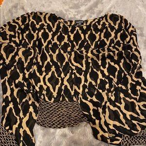 Bebe Scarf blouse